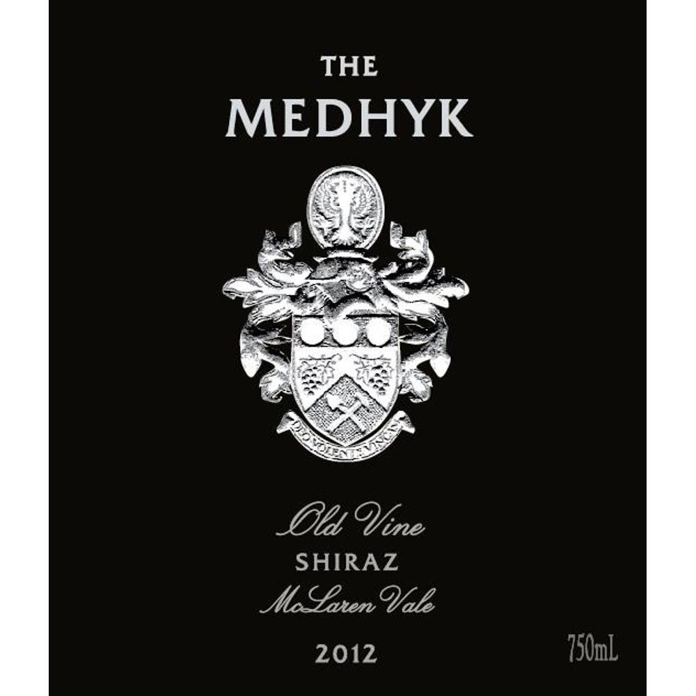 Angove Family Winemakers The Medhyk Shiraz 2012 Front Label