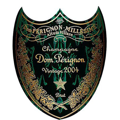 Dom Perignon Limited Edition Metamorphosis in Gift Box 2004 Front Label