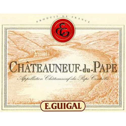 Guigal Chateauneuf-du-Pape (375ML half-bottle) 2009 Front Label