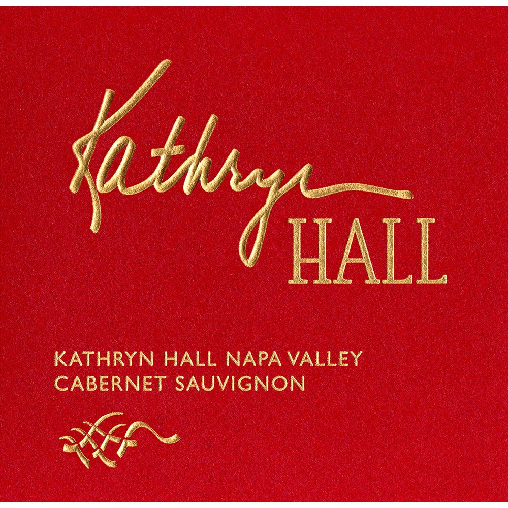 Hall Kathryn Hall Cabernet Sauvignon 2011 Front Label