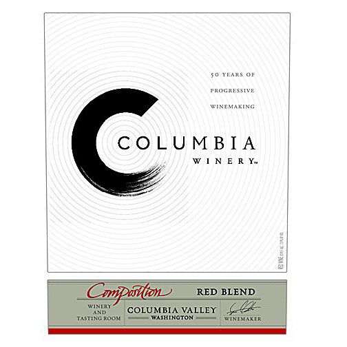 Columbia Winery Composition Red Blend Front Label