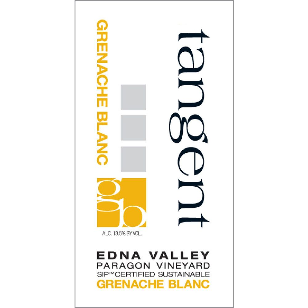 Tangent Paragon Vineyard Grenache Blanc 2012 Front Label