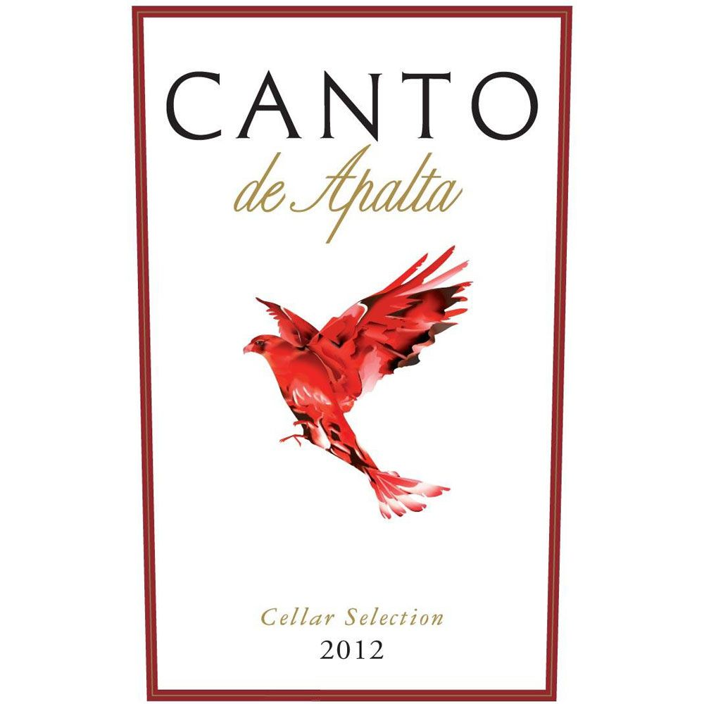 Lapostolle Canto de Apalta Red Blend 2012 Front Label