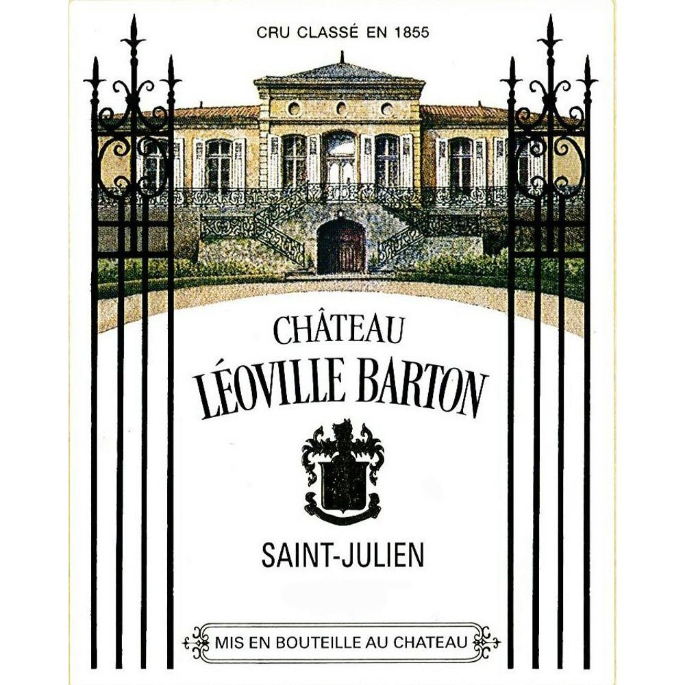 Chateau Leoville Barton (3 Liter Bottle) 2009 Front Label
