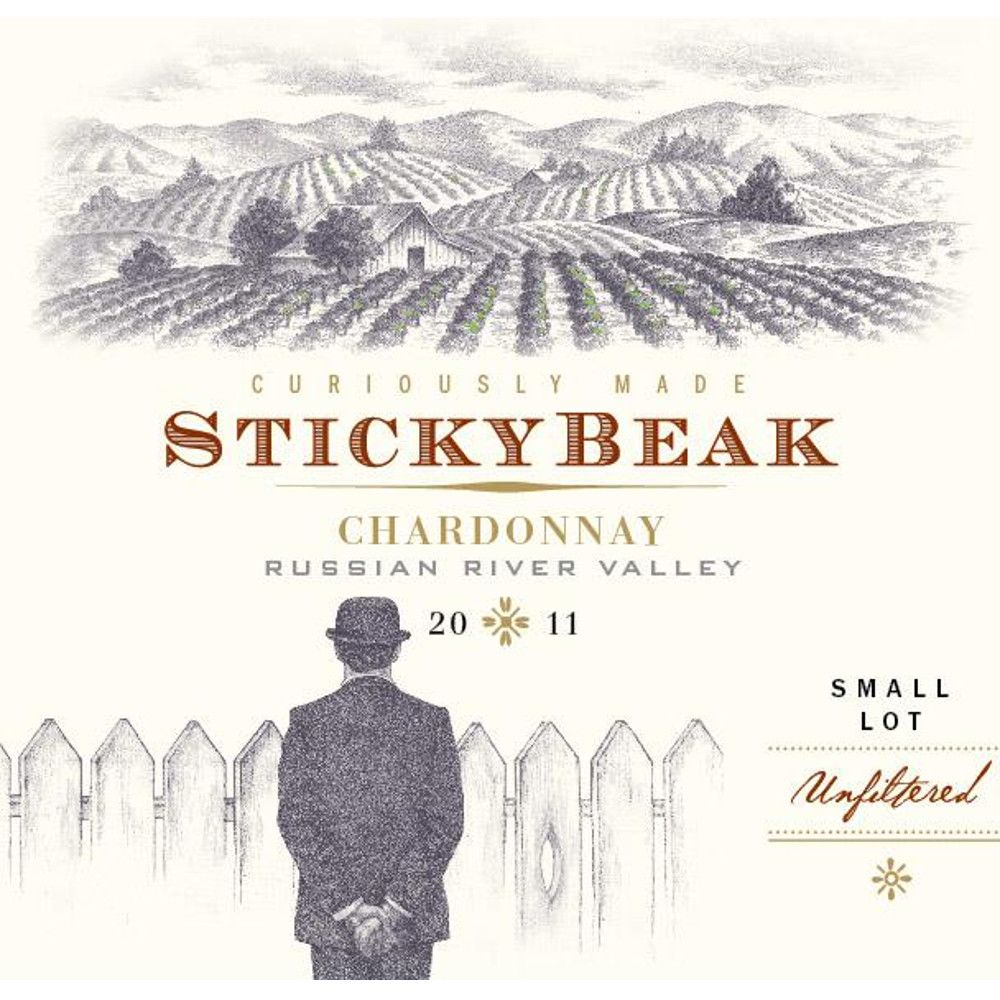 Stickybeak Chardonnay 2011 Front Label