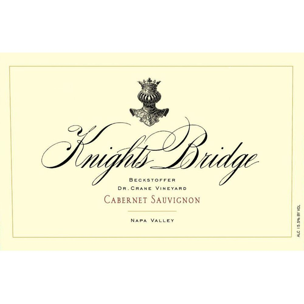 Knights Bridge Dr. Crane Vineyard Cabernet Sauvignon 2009 Front Label