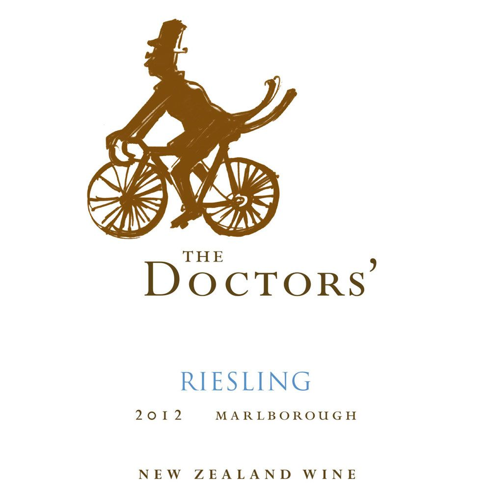 The Doctors' Riesling 2012 Front Label