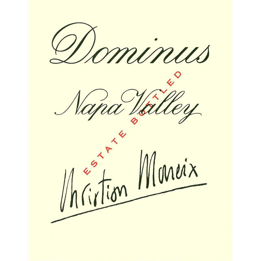 Dominus Estate (slightly torn label - 1.5 Liter Magnum) 2003 Front Label