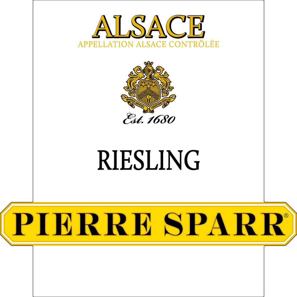 Pierre Sparr Riesling 2013 Front Label