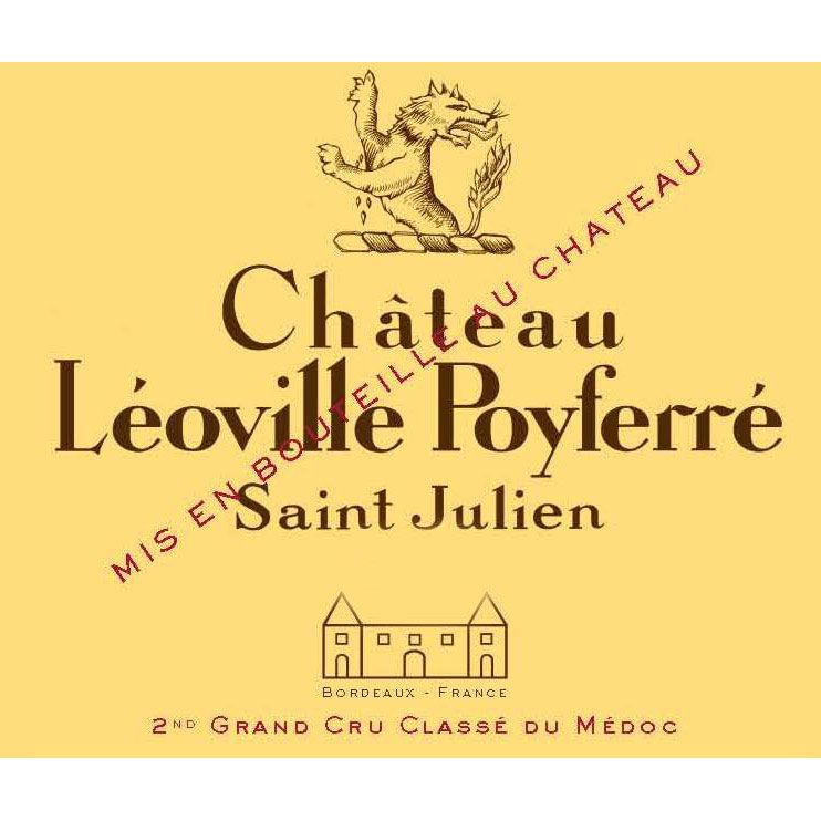 Chateau Leoville Poyferre (375ML half-bottle) 2005 Front Label