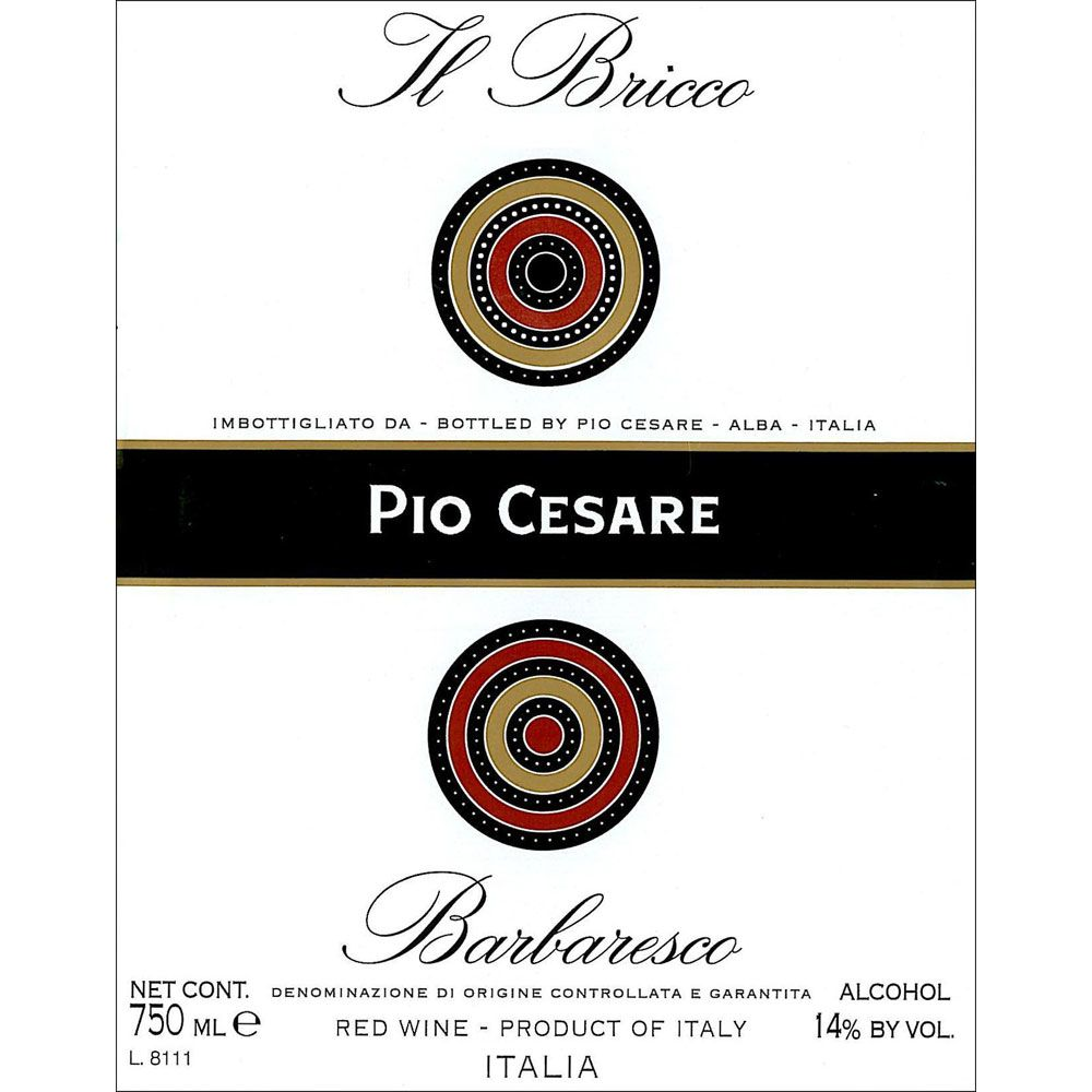 Pio Cesare Il Bricco Barbaresco 2010 Front Label