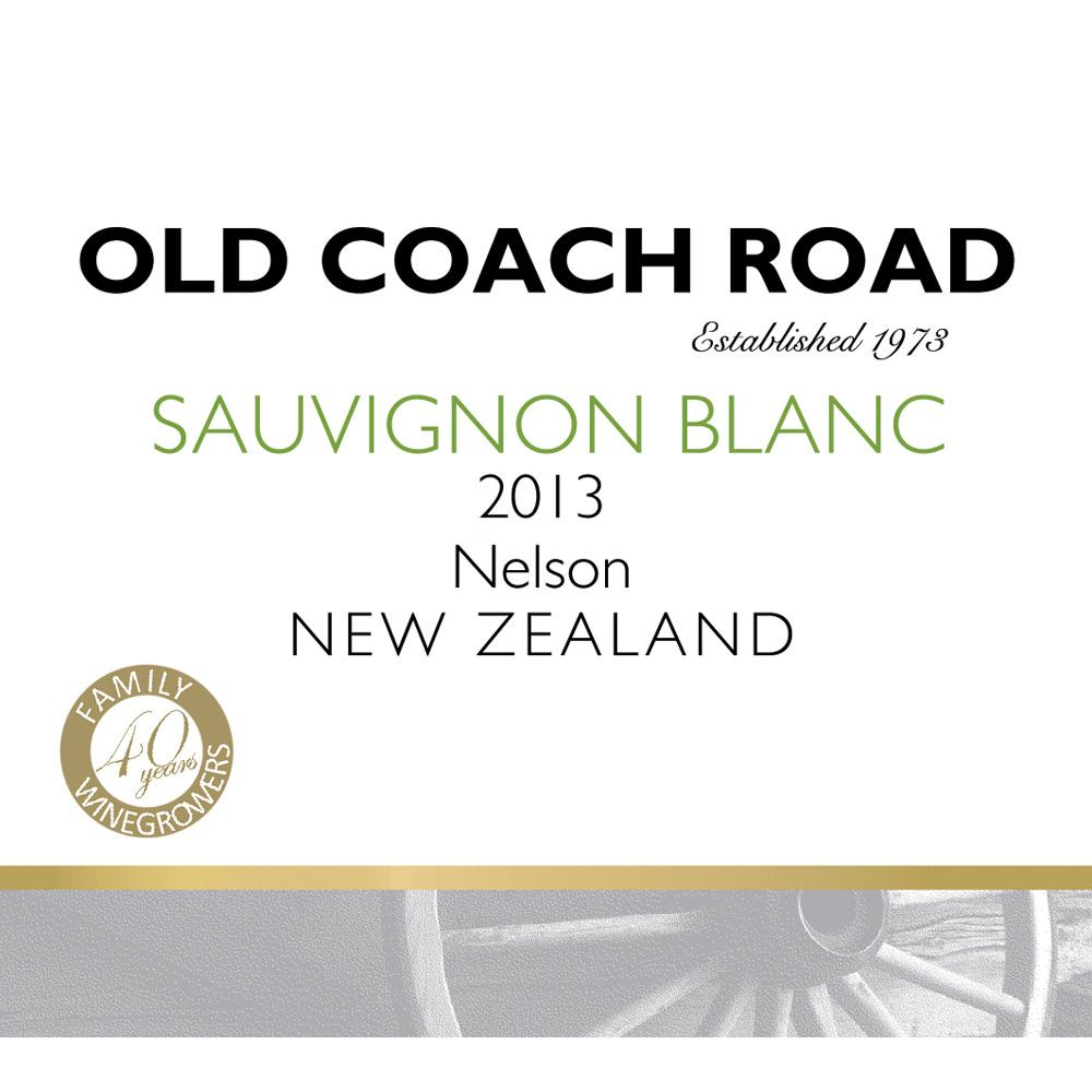 Old Coach Road Sauvignon Blanc 2013 Front Label