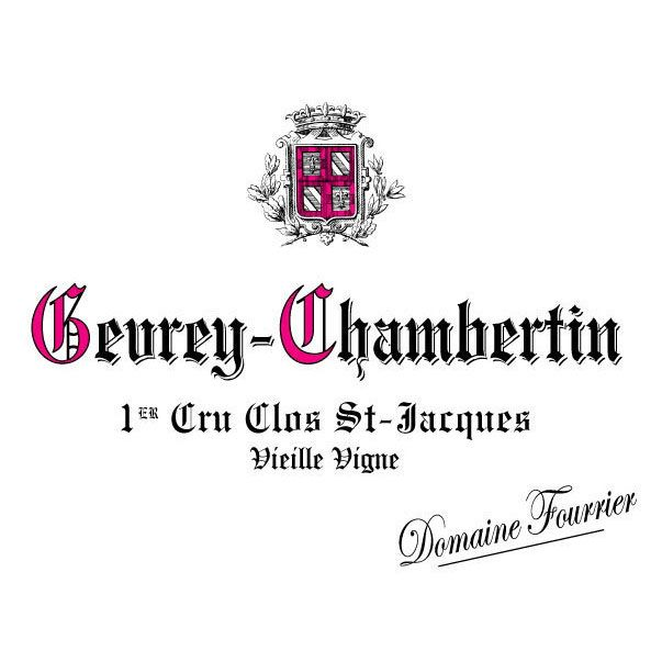 Domaine Fourrier Gevrey-Chambertin Clos St-Jacques 2006 Front Label