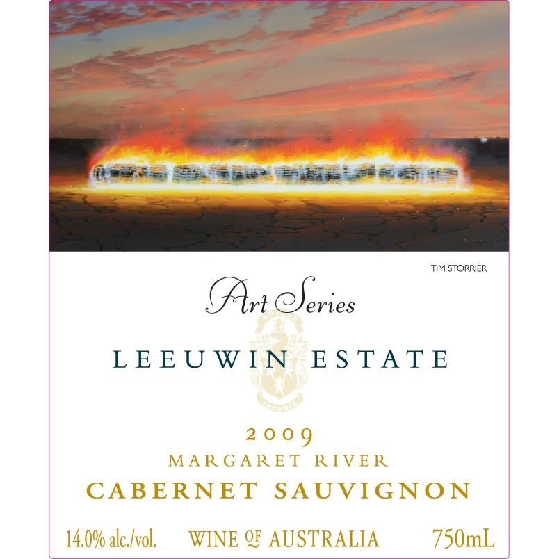 Leeuwin Estate Art Series Cabernet Sauvignon 2009 Front Label
