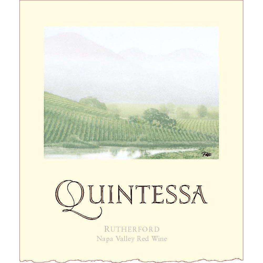 Quintessa  2011 Front Label