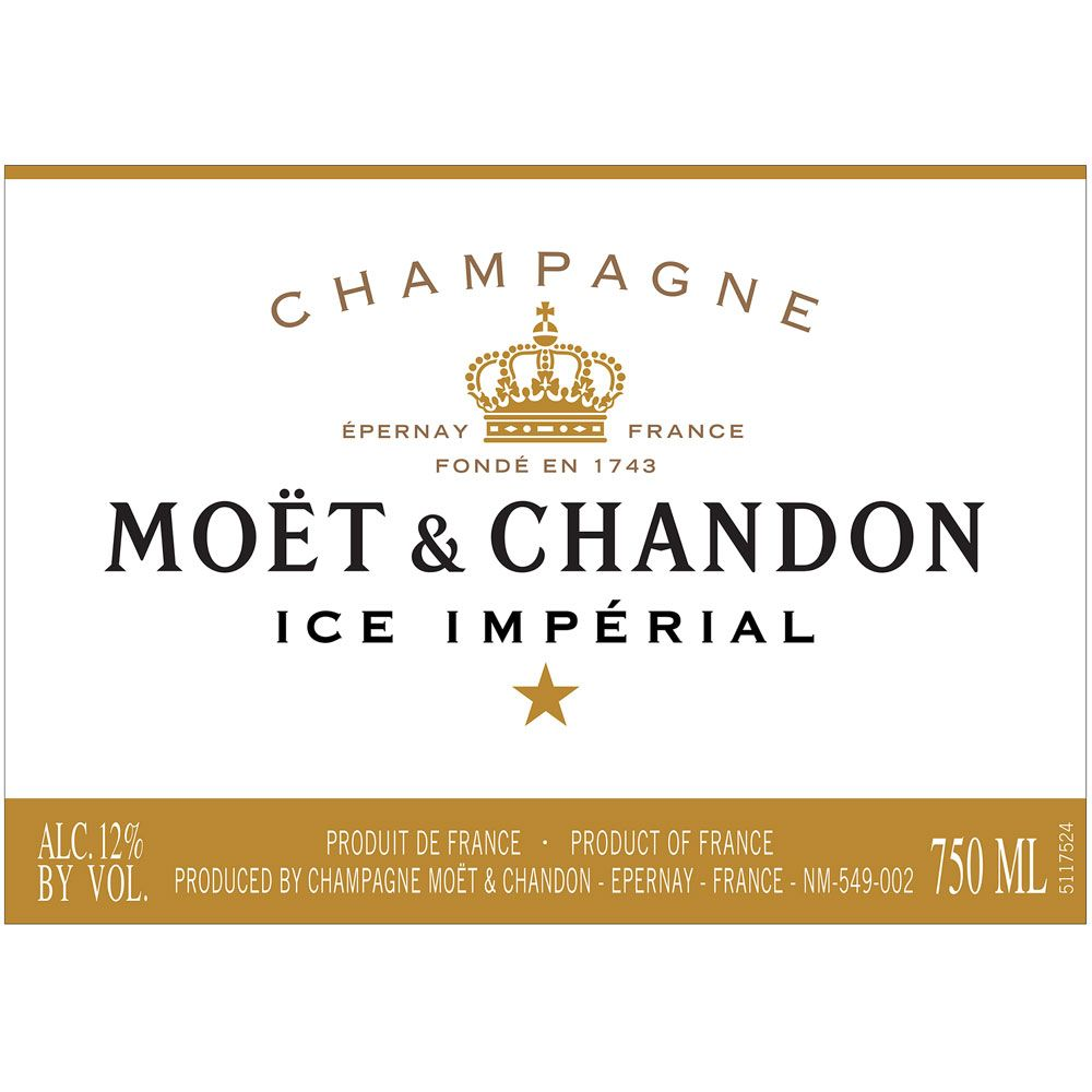 Moet & Chandon Ice Imperial Front Label