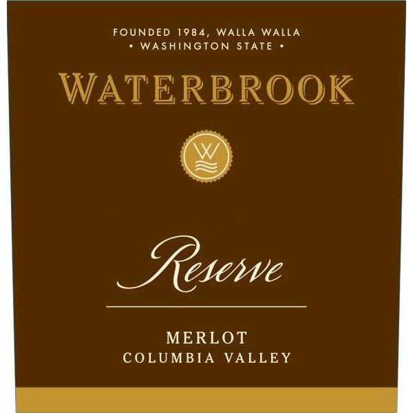 Waterbrook Reserve Merlot 2011 Front Label