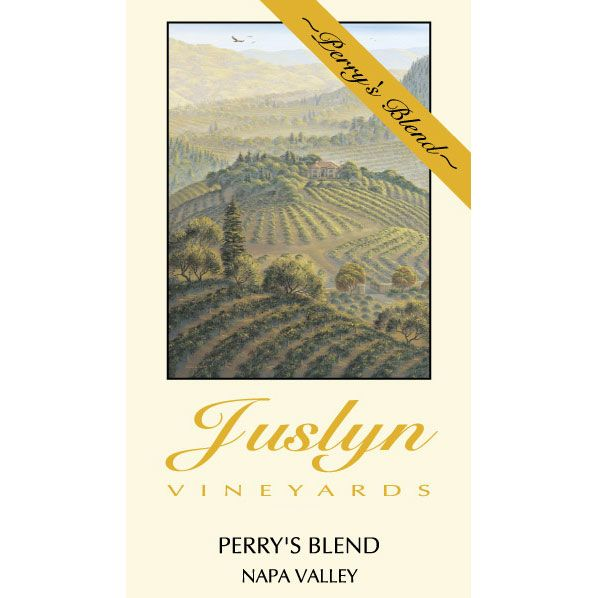 Juslyn Perry's Blend Spring Mountain District 2005 Front Label