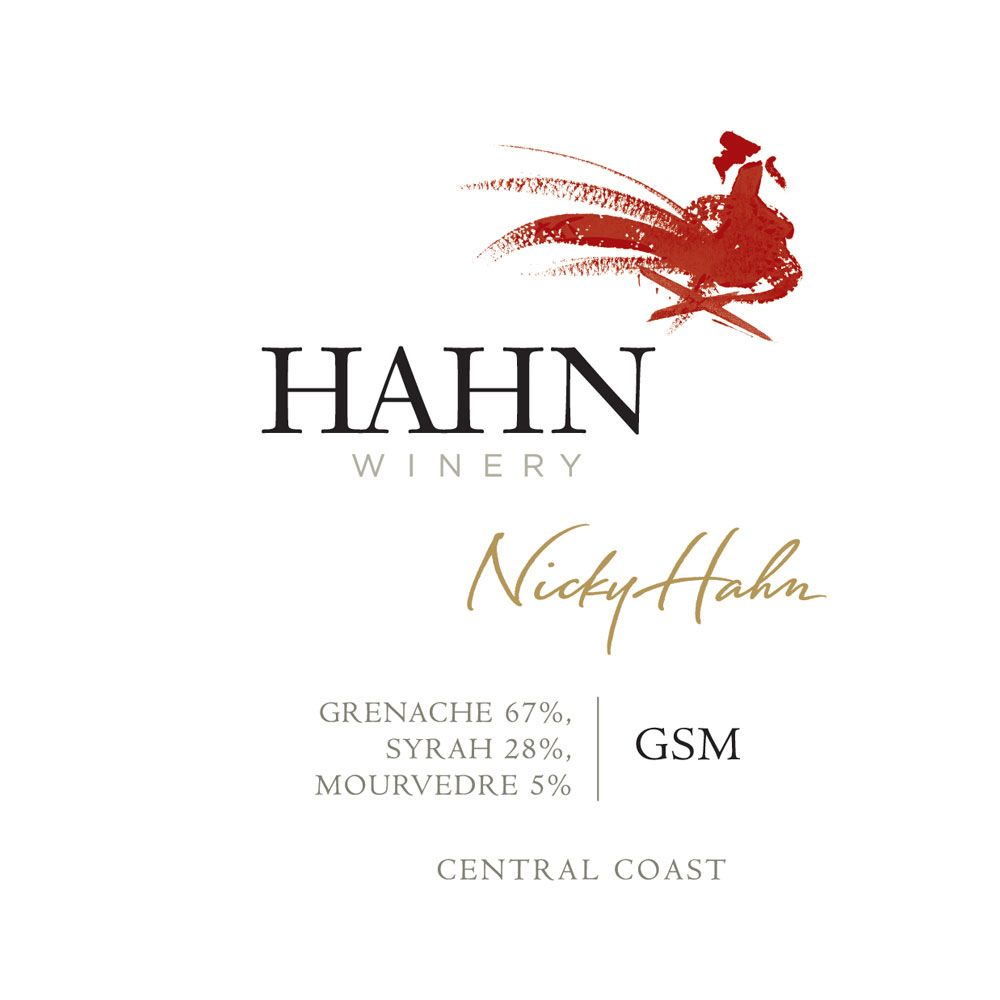 Hahn Winery GSM 2013 Front Label