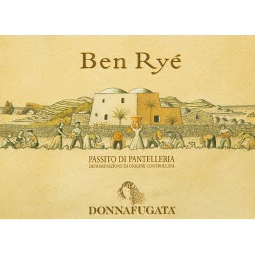 Donnafugata Ben Rye (375ML half-bottle) 2012 Front Label