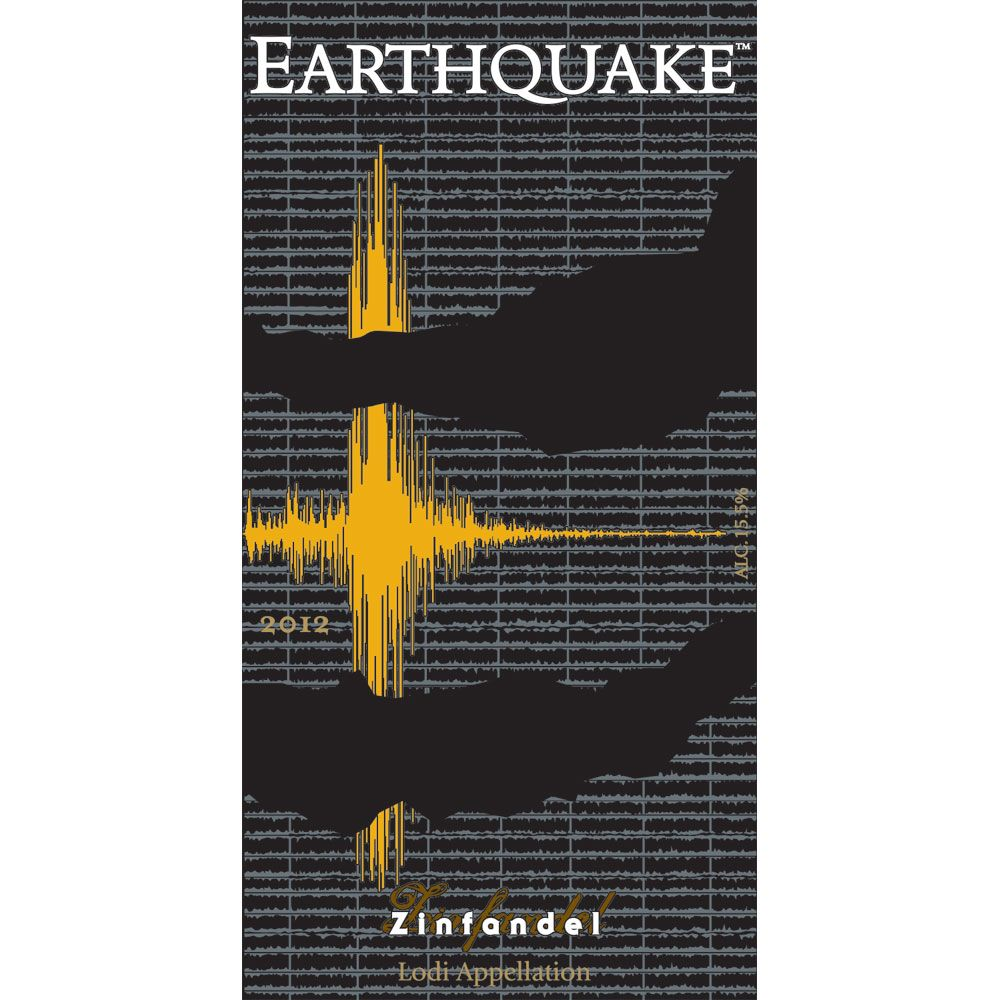 Michael David Winery Earthquake Zinfandel 2012 Front Label