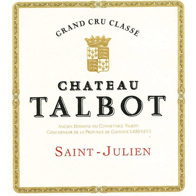 Chateau Talbot  2005 Front Label