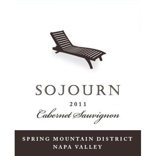 Sojourn Spring Mountain Cabernet Sauvignon 2011 Front Label