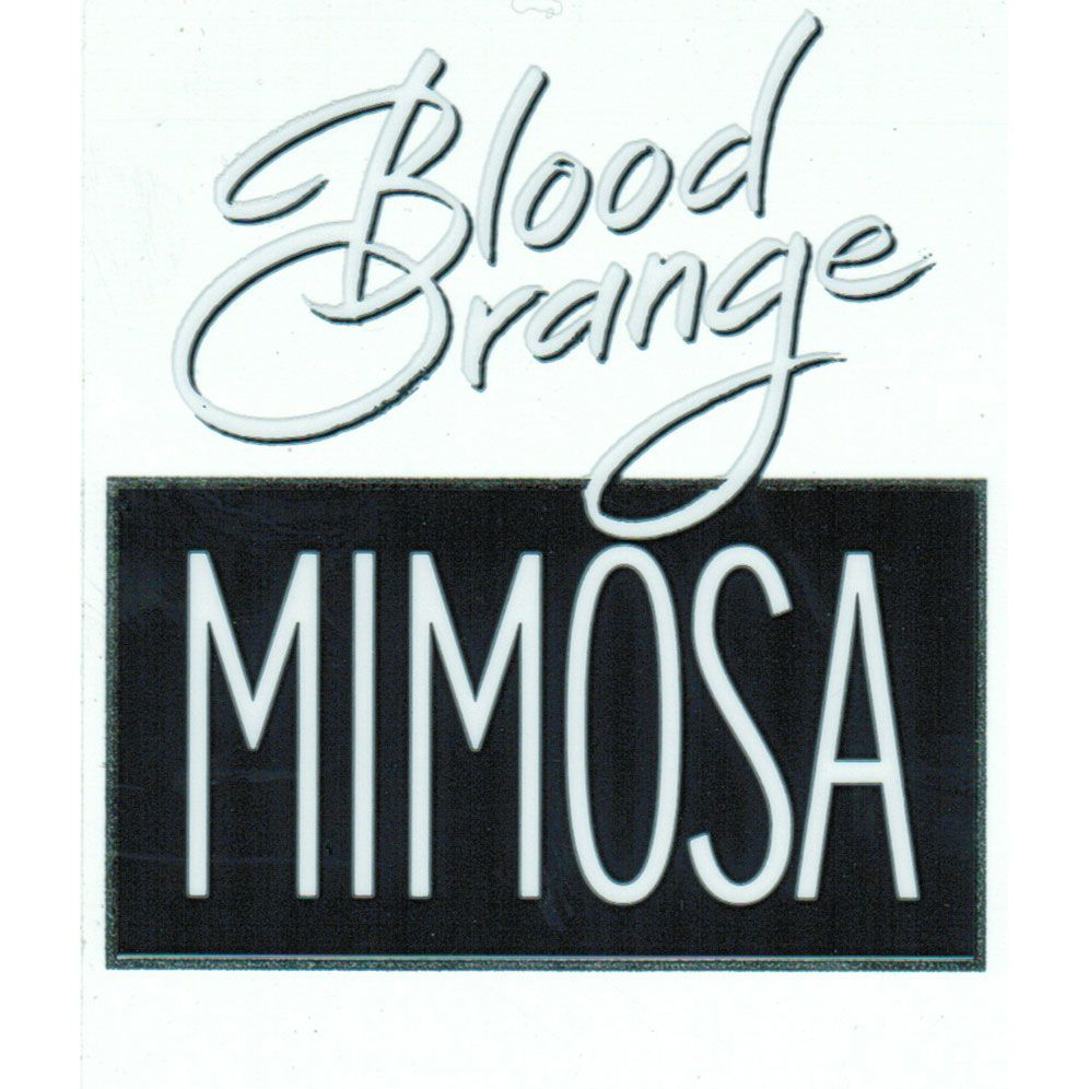 Canella Blood Orange Mimosa Front Label