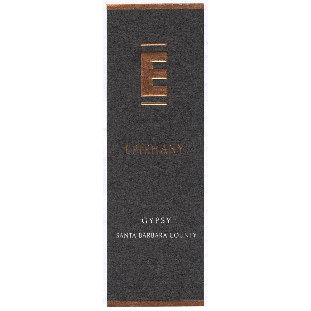 Epiphany Cellars by Fess Parker Gypsy 2011 Front Label