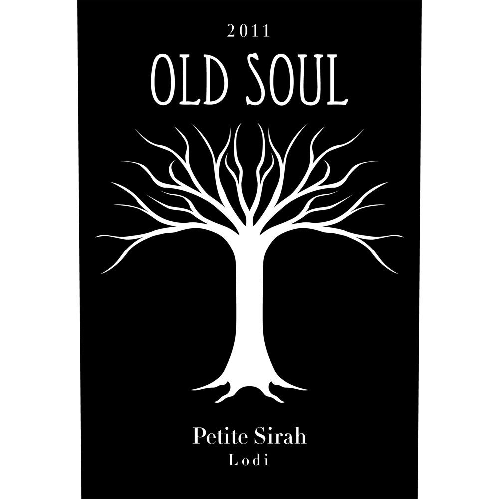 Old Soul Vineyards Petite Sirah 2011 Front Label