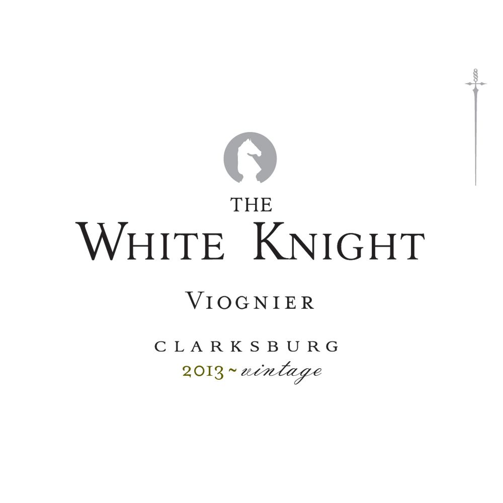 The White Knight Viognier 2013 Front Label