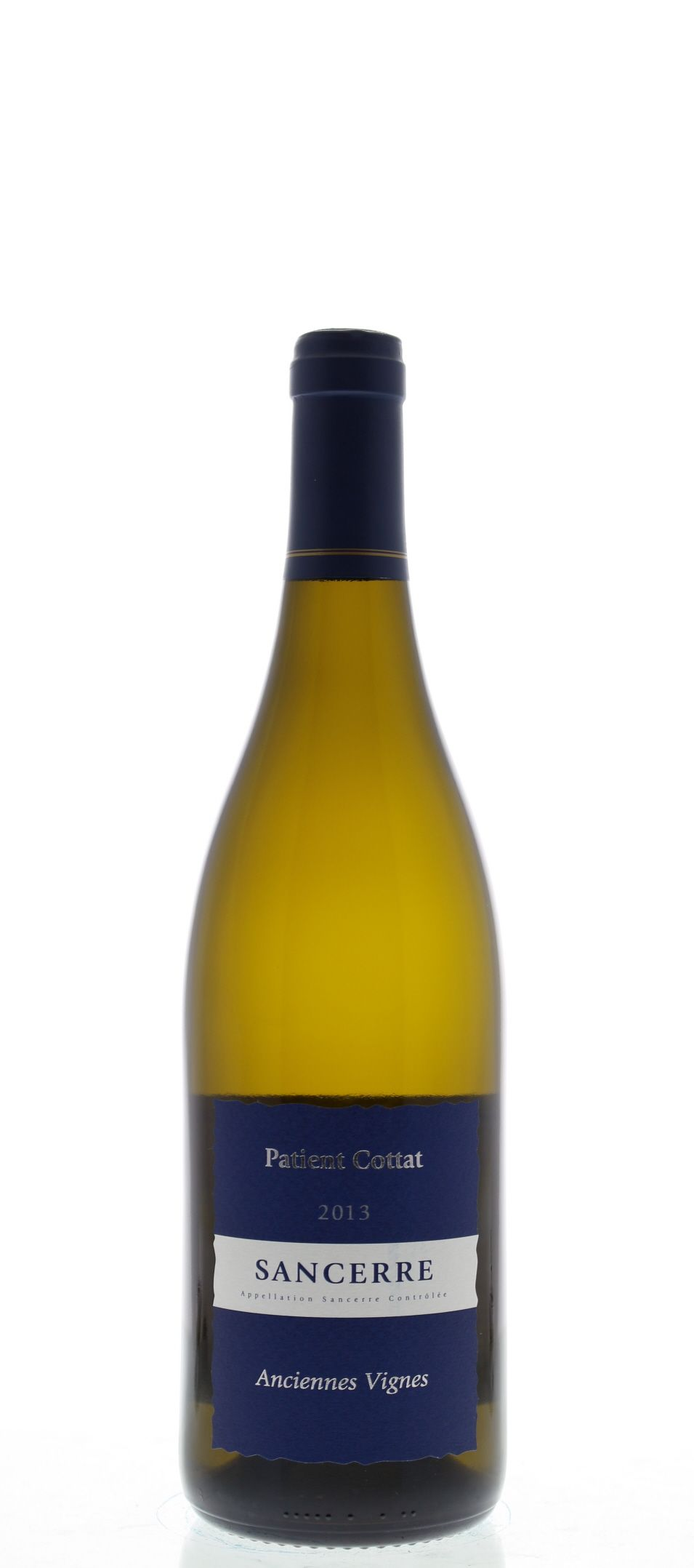 Patient Cottat Sancerre Anciennes Vignes 2013 Front Bottle Shot