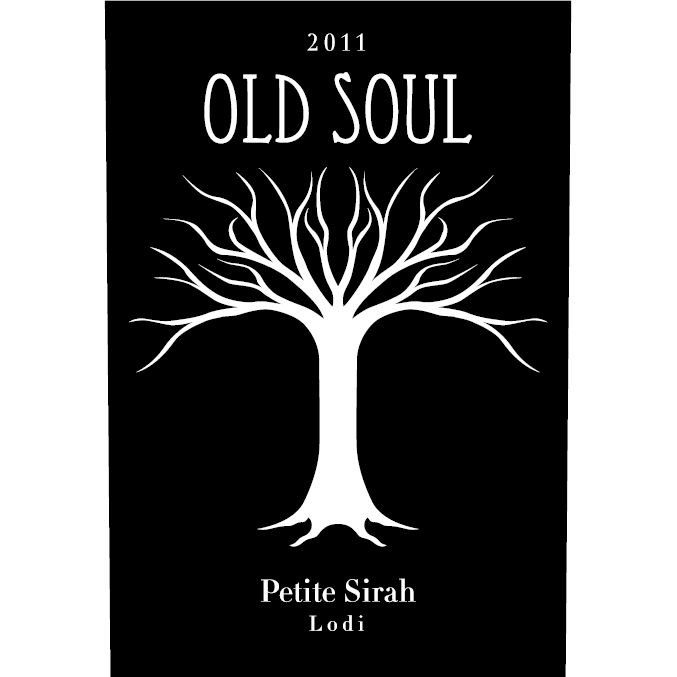 Old Soul Vineyards Petite Sirah 2012 Front Label