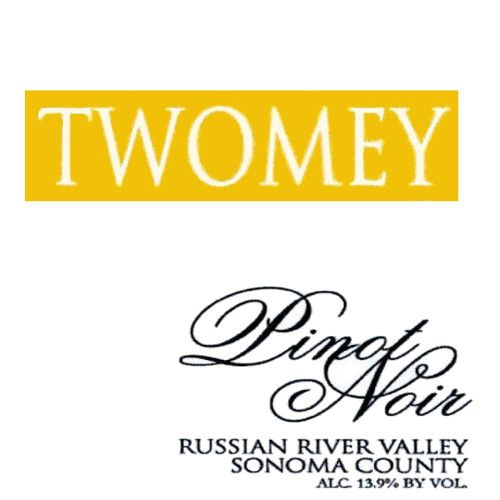 Twomey Cellars by Silver Oak Russian River Pinot Noir 2013 Front Label