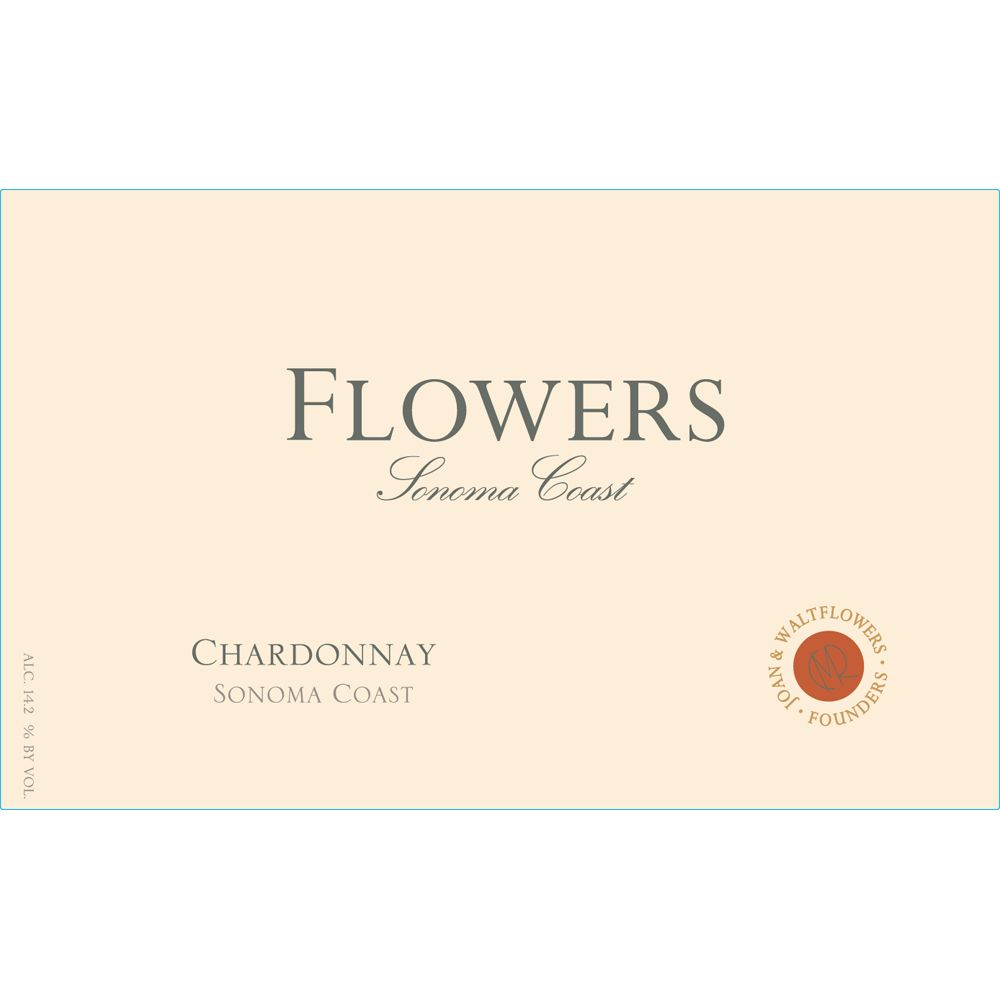 Flowers Sonoma Coast Chardonnay 2013 Front Label