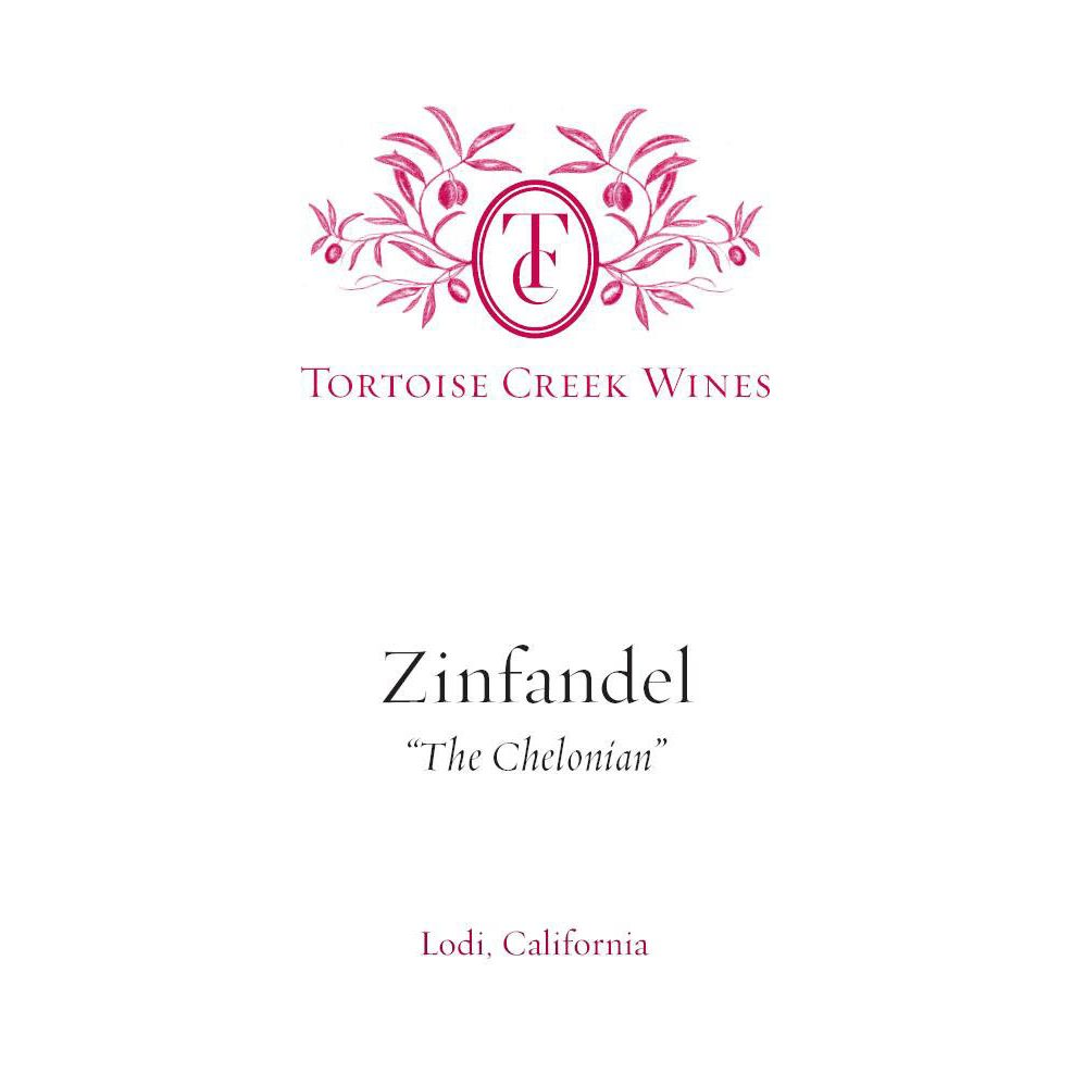 Tortoise Creek The Chelonian Zinfandel 2012 Front Label
