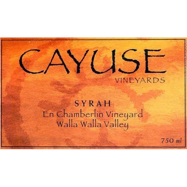 Cayuse En Chamberlin Syrah 2007 Front Label