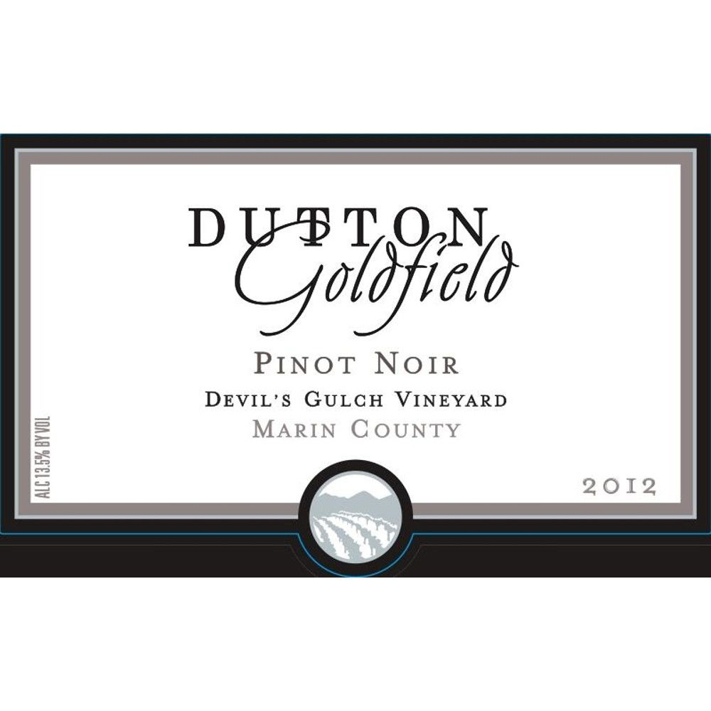 Dutton-Goldfield Devil's Gulch Vineyard Pinot Noir 2012 Front Label