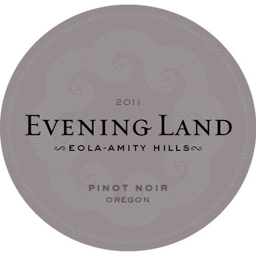 Evening Land Eola-Amity Hills Pinot Noir 2011 Front Label