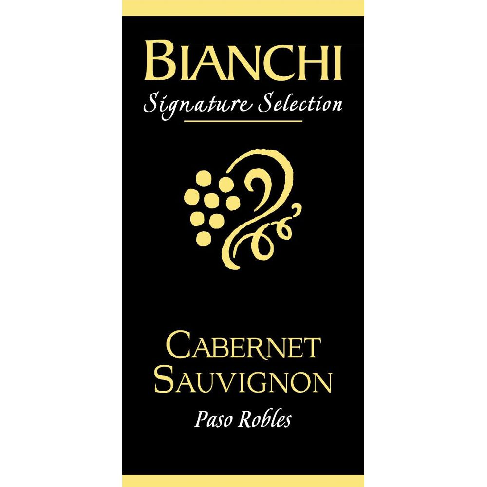 Bianchi Vineyards Cabernet Sauvignon 2011 Front Label