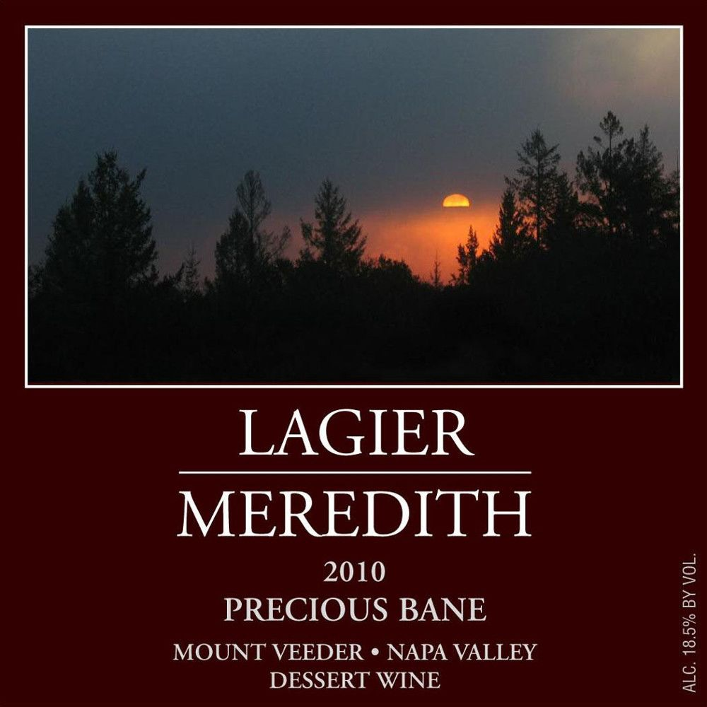 Lagier Meredith Precious Bane 2010 Front Label