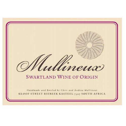 Mullineux Family Wines White Blend 2012 Front Label