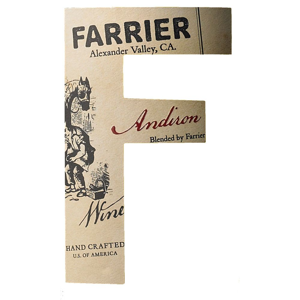 Farrier Andrion 2010 Front Label