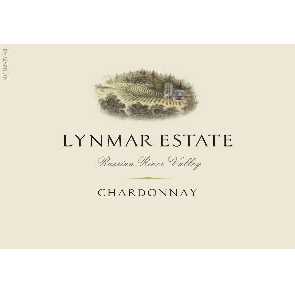 Lynmar Winery Russian River Chardonnay 2012 Front Label