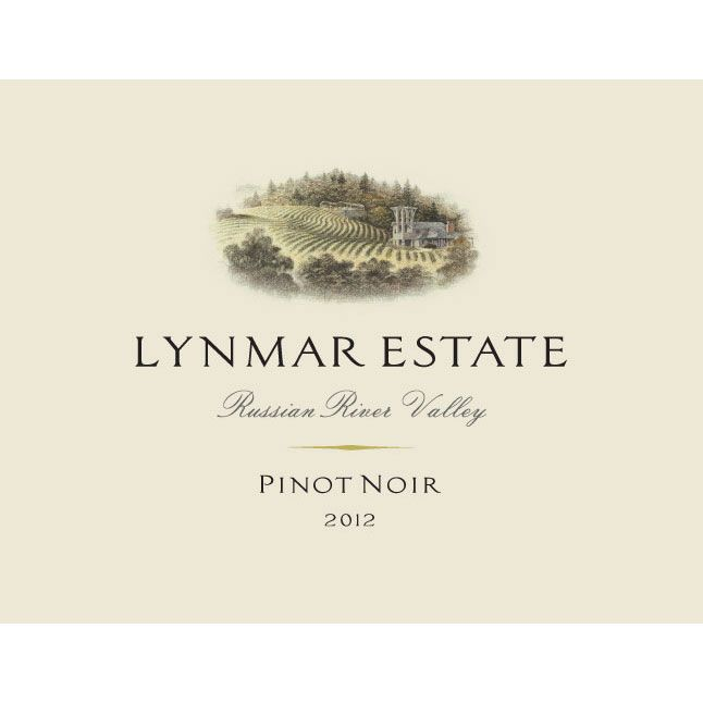 Lynmar Winery Russian River Pinot Noir 2012 Front Label