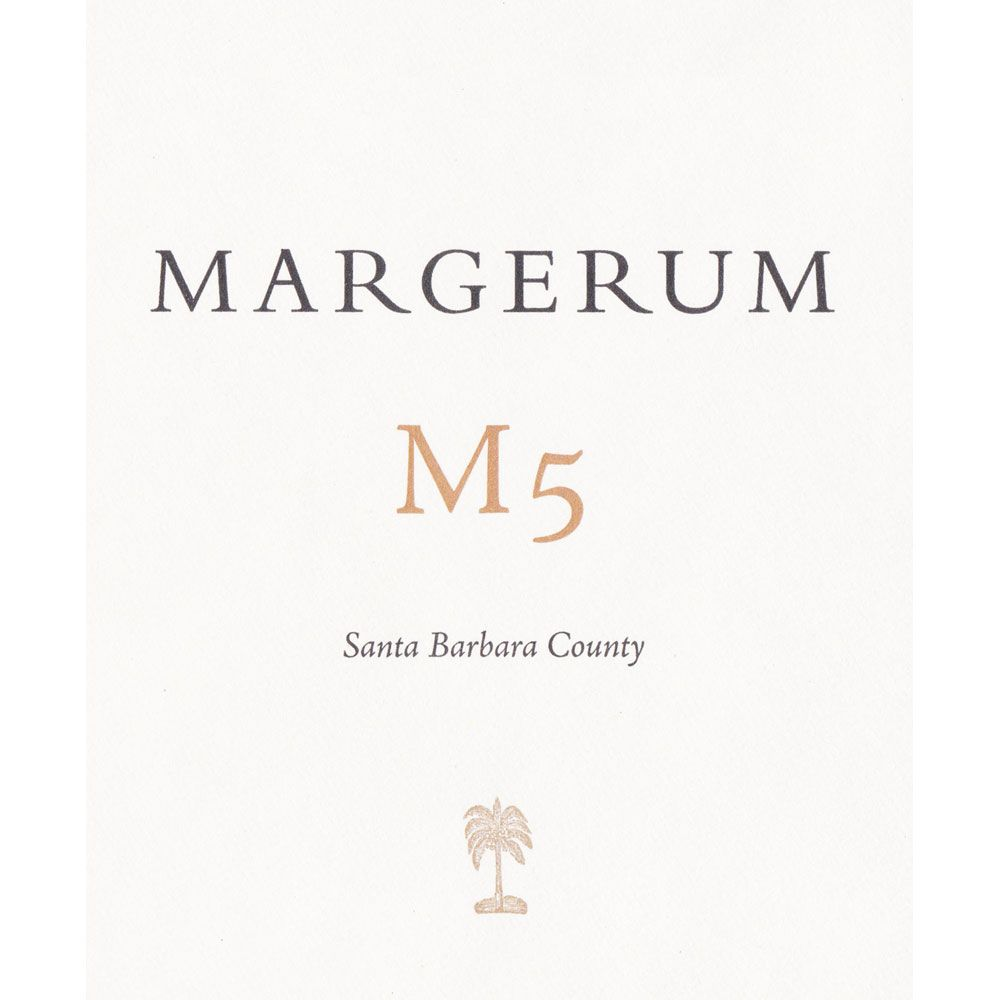 Margerum M5 Red 2012 Front Label