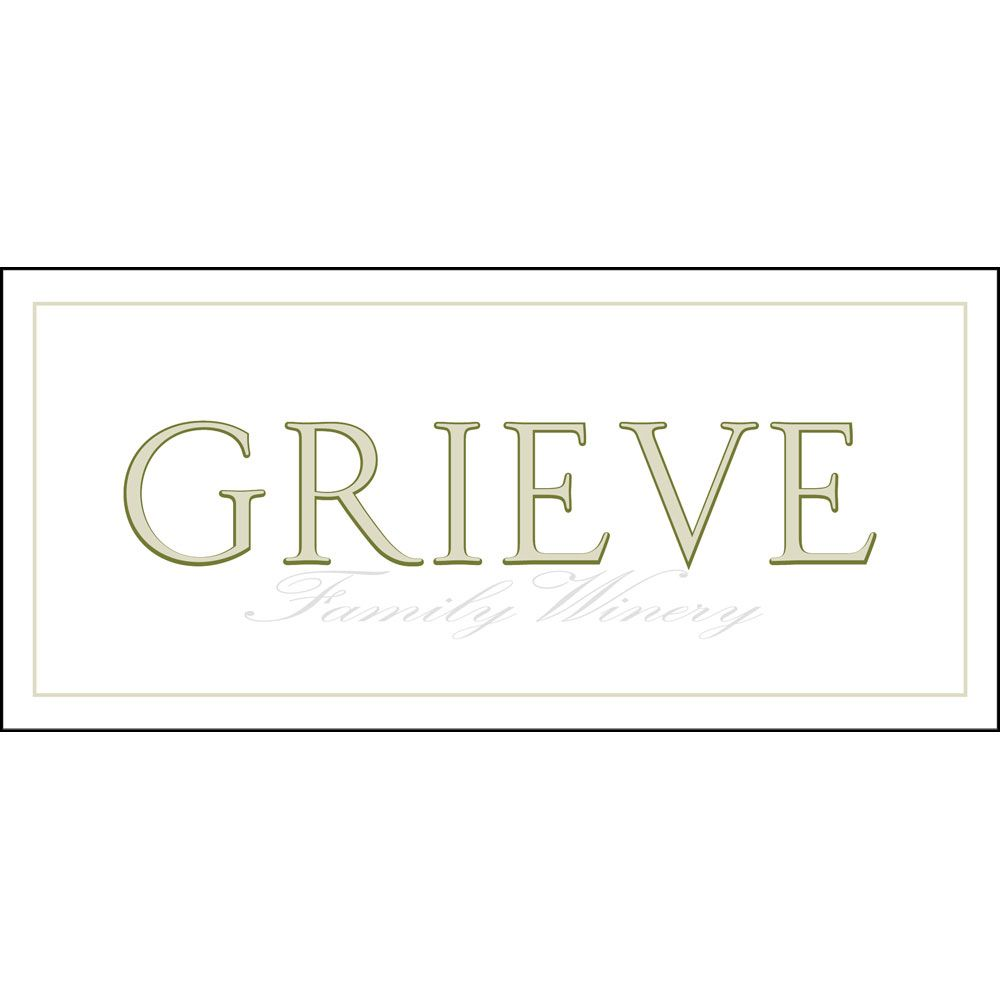 Grieve Family Winery Sauvignon Blanc 2012 Front Label
