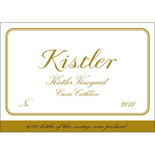 Kistler Vineyards Cuvee Cathleen Chardonnay 2011 Front Label