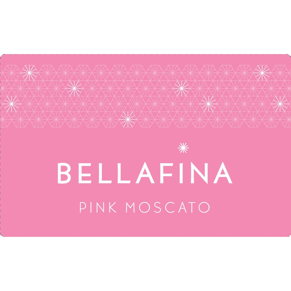 Bellafina Pink Moscato Front Label