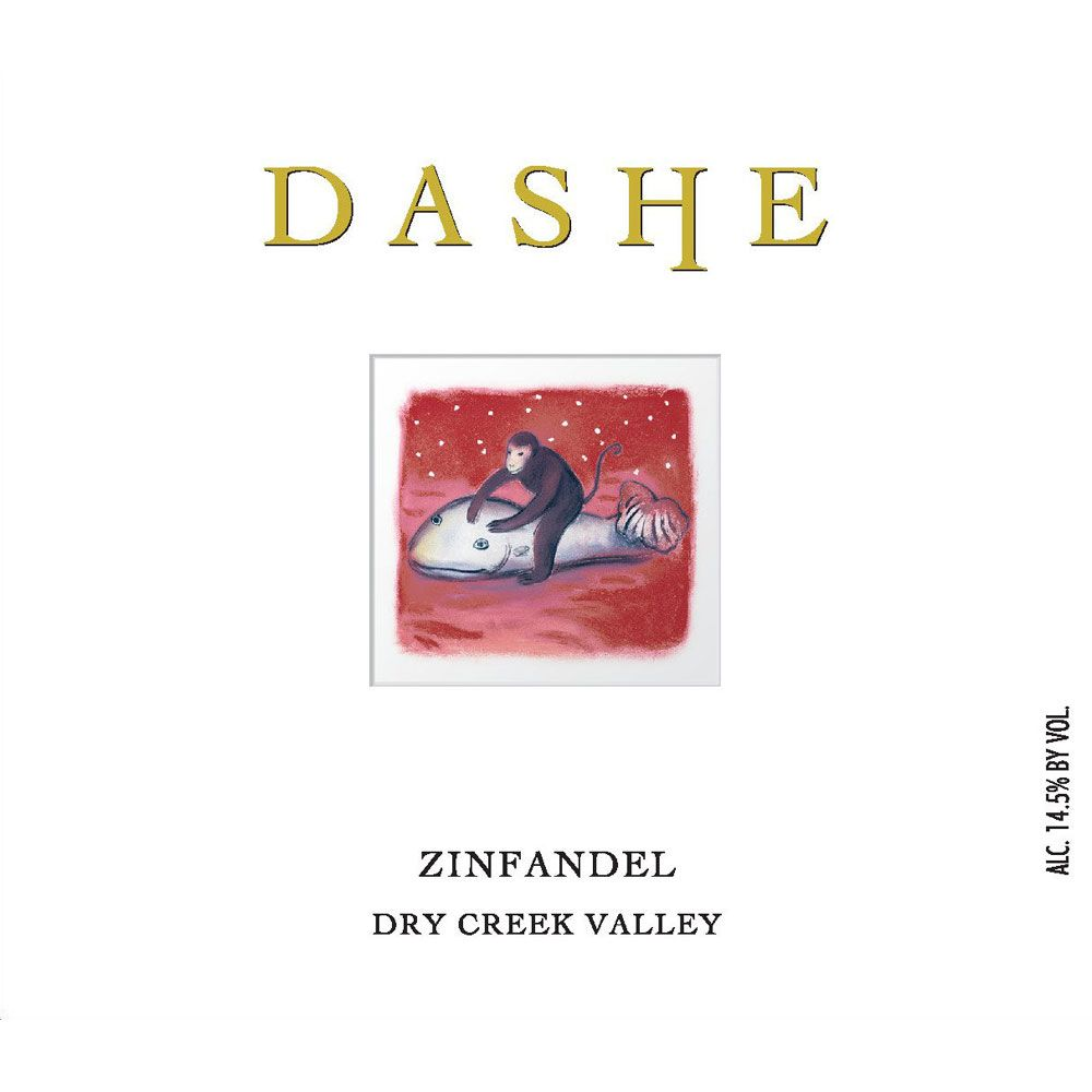 Dashe Dry Creek Zinfandel (375ML half-bottle) 2012 Front Label